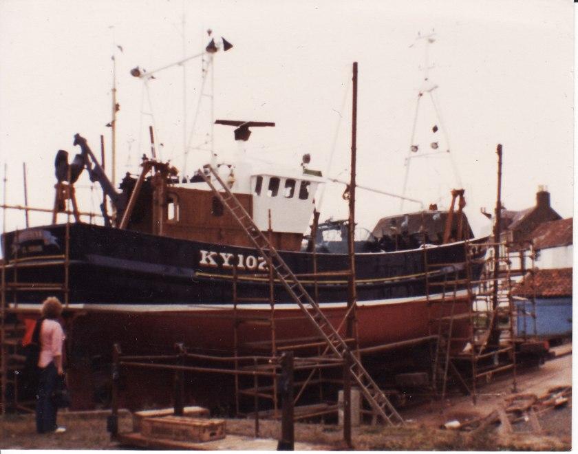 Provider III St Monans Scotland 1981